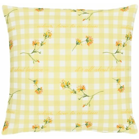 Happy Easter Cotton Cushion Cover