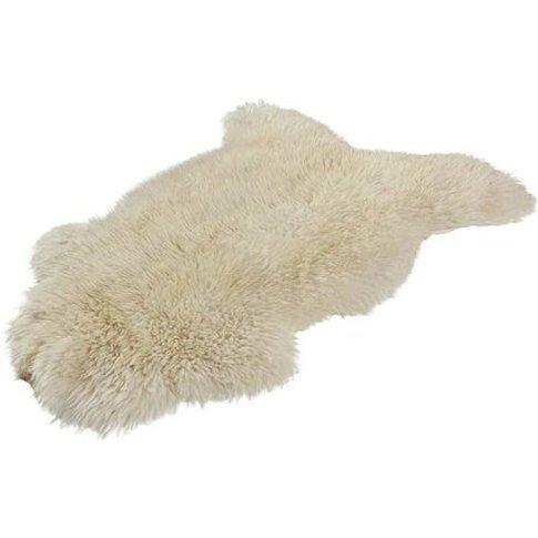 Laine Sheepskin White Rug
