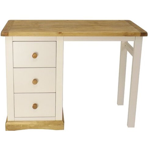 3 Drawer Dressing Table
