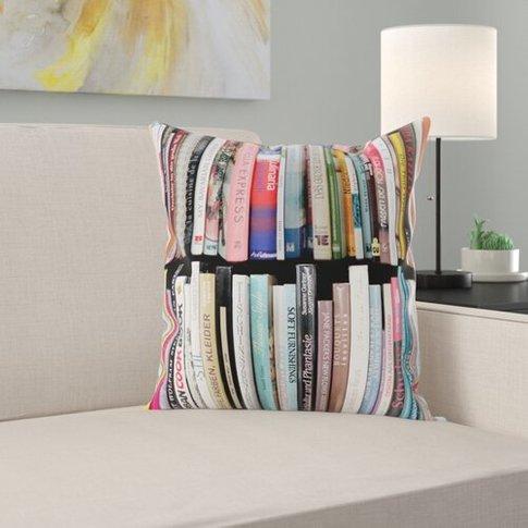 Libri Loft Cotton Cushion Cover