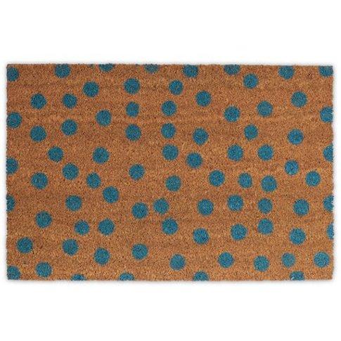 Polka Dot Spotted Doormat