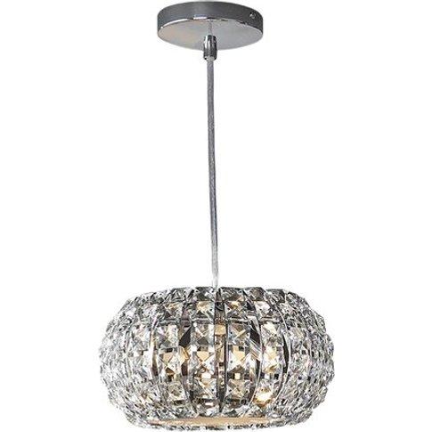 Diamond 3-Light Crystal Chandelier