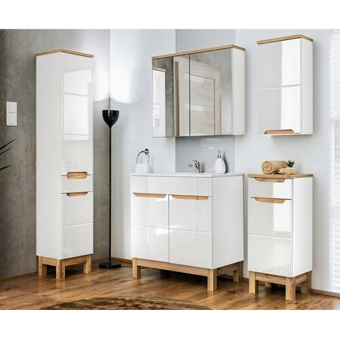Coolidge 6 Piece Bathroom Storage Furniture Set