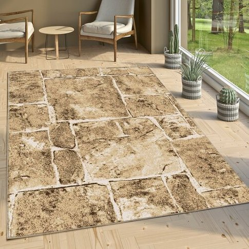 Candace Brown/Beige Rug