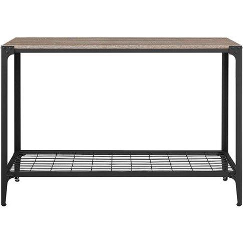 Arboleda Rustic Wood Console Table