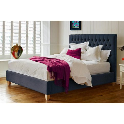 Emilia Deep Buttoned Bed - Super King 180 X 200cm - 6ft