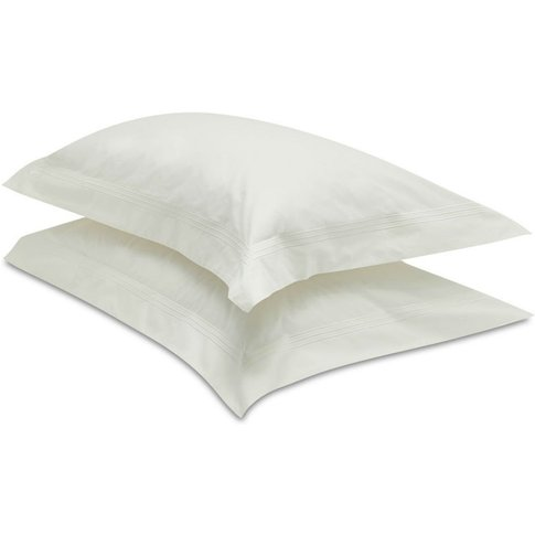 Palazzo Pillow Case - Large 50x90cm - Vanilla