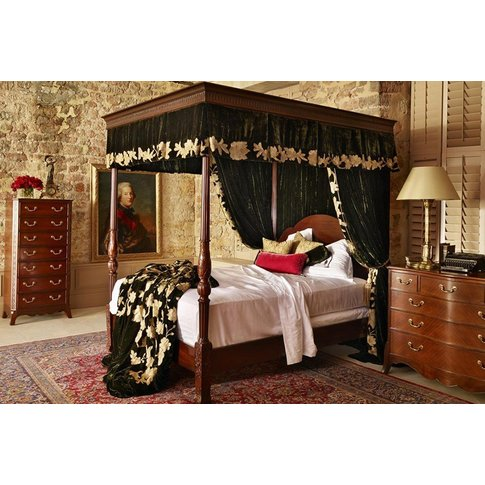 Georgian Four Poster Bed - Super King 180 X 200cm - 6ft
