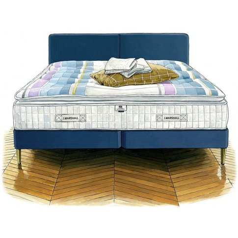J. Marshall No. 4 Mattress And Divan - Super King 18...