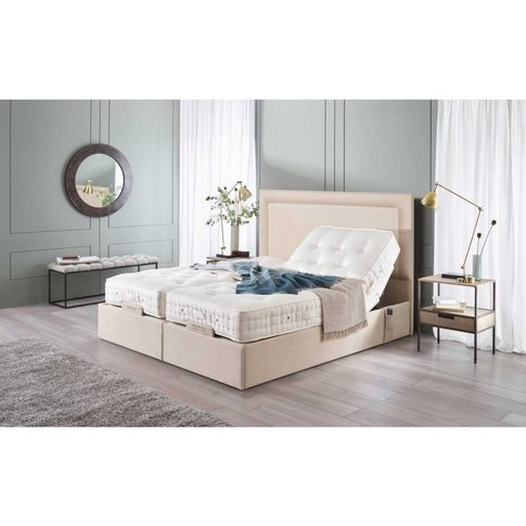 Vispring Sapphire Ii Adjustable Recliner Excellence Mattress With Arcadia Headboard - Long Single 90 X 200cm - 3ft - Vispring End Drawers - No Fabric Charge