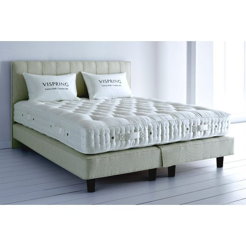 Vispring Herald Superb Mattress And Divan Set - Small Super King 167 X 200cm - 5ft 6inches - Shallow Divan - 17cm