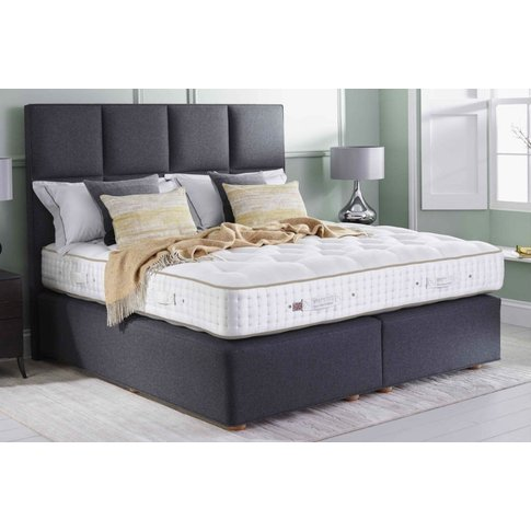 Vispring Regal Superb Mattress And Divan Set - King 150 X 200cm - 5ft - High Divan - 31cm