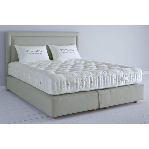 Vispring Sublime Superb Mattress And Divan Set - Emperor 202 X 200cm - 6ft 6inches - Low Divan - 25cm