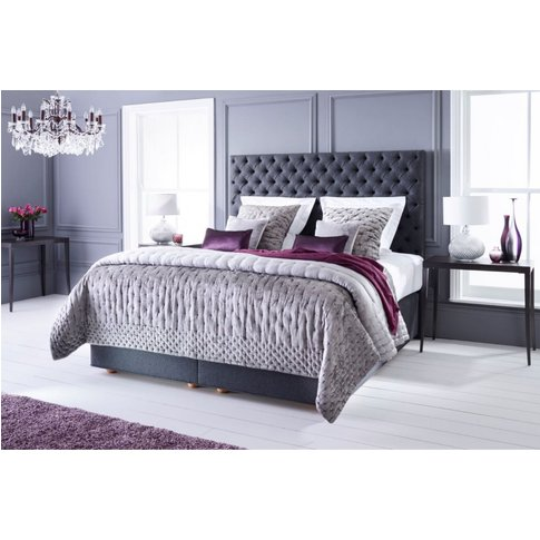 Vispring Opulence Mattress And Divan Set - Super King 180 X 200cm - 6ft - Low Divan - 25cm