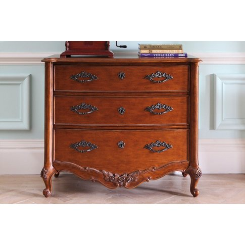 Louis Xv Chest Of Drawers - Large 3 Drawer