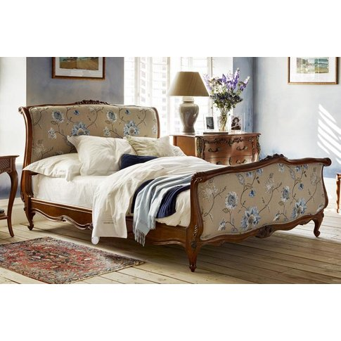 Louis Xv Upholstered Bed - Emperor 202 X 200cm - 6ft...