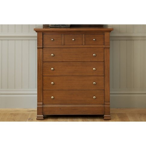 Manoir Chest Of Drawers - Brass Handles