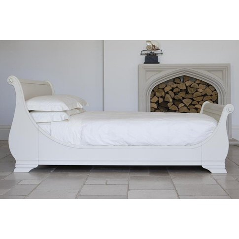 Manoir Painted Bed - Emperor 202 X 200cm - 6ft 6inches