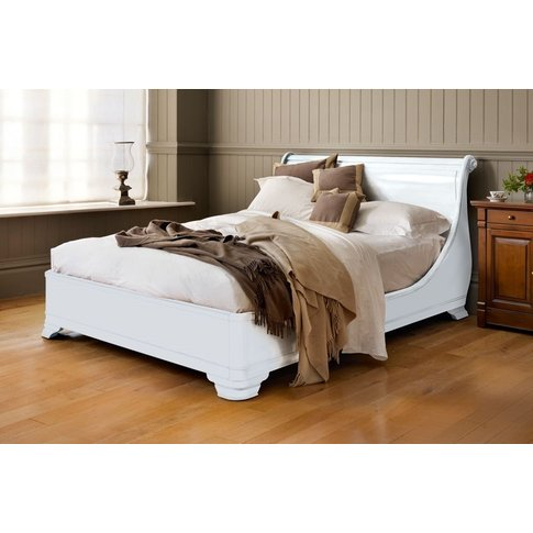 Manoir Painted Socle Bed - Double 135 X 190cm - 4ft 6inches