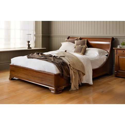 Manoir Socle Bed - Double 135 X 190cm - 4ft 6inches