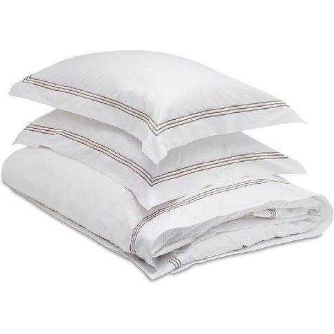Mayfair 3 Stripe Pillow Case - Square 65x65cm - Mayf...