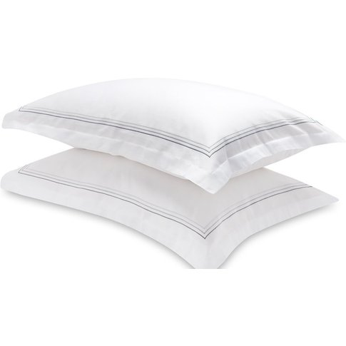 Mayfair 3 Stripe Pillow Case - Large 50x90cm - Mayfa...