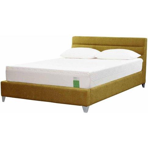 Tempur Genoa Bed - Double 4ft 6 - Tempur Sundance Green