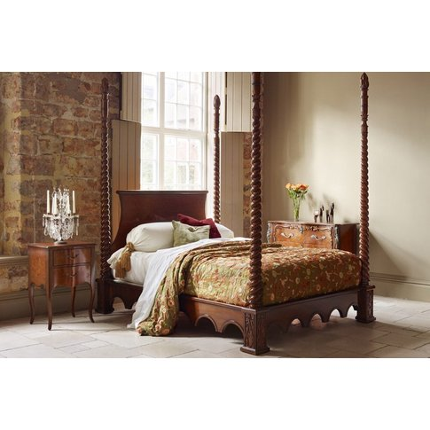 Venetian Four Poster Bed - King 150 X 200cm - 5ft