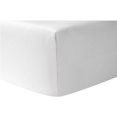 Yves Delorme Triomphe Fitted Sheet - Single 90cm X 1...