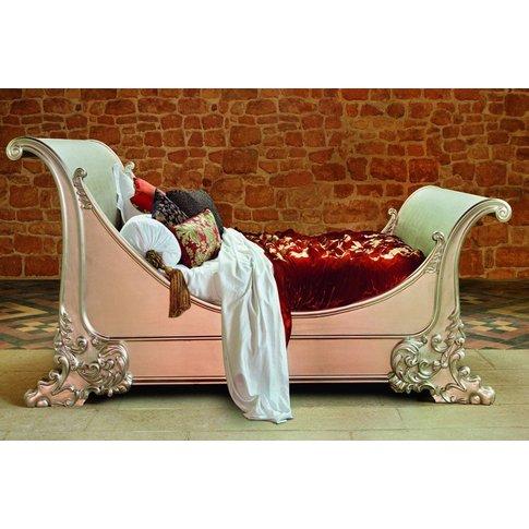 Brodsworth Leafed Bed - King 150 X 200cm - 5ft