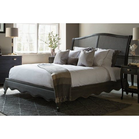 Brompton Caned Bed - King 150 X 200cm - 5ft