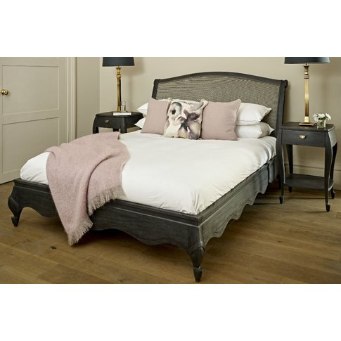 Brompton Upholstered Bed - Small Super King 167 X 20...
