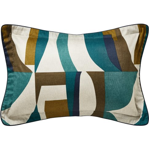 Harlequin Bodega Oxford Pillowcase, Marine