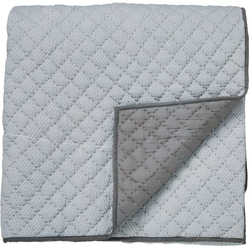 Bedeck Of Belfast Cadenza Quilted Throw, Grey