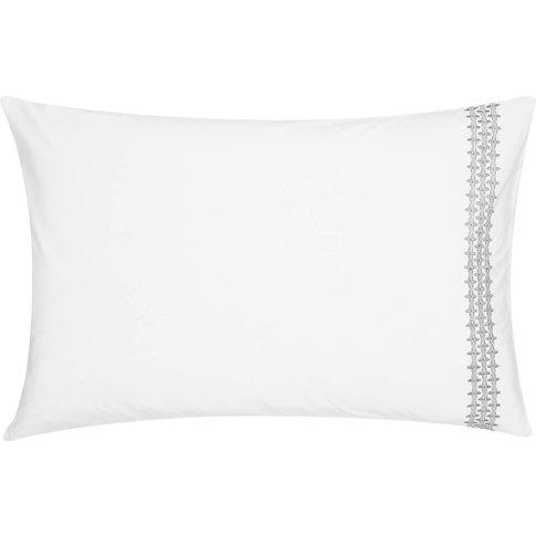 By Bedeck Etana Housewife Pillowcase, Grape