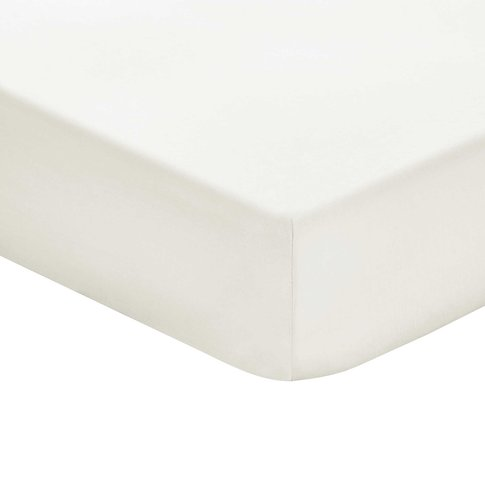 Bedeck 1951 Plain Dye Percale Single Fitted Sheet, C...