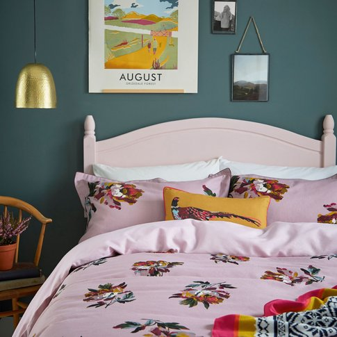 Joules Heritage Peony Duvet Covers, Fragrant Lilac