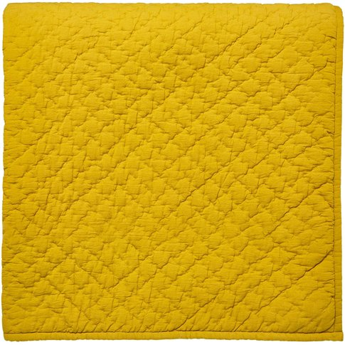 Bedeck 1951, Koba Quilted Throw, Ochre
