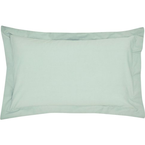 Peacock Blue Hotel 300 Thread Count Plain Dye Oxford...