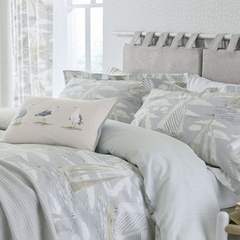 Sanderson Sailor Super Kingsize Duvet Cover, Dove
