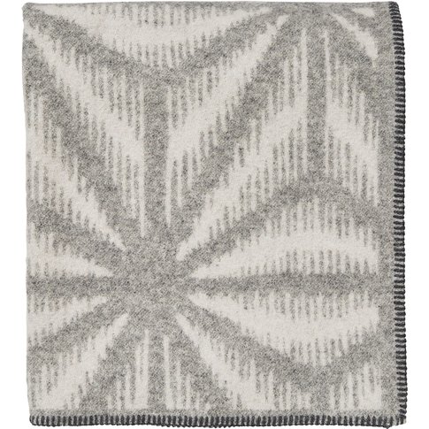 Murmur Tella Throw, Dove Grey