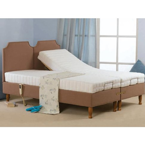 Sweet Dreams Fontwell On Legs 5ft Kingsize Linked Adjustable Bed