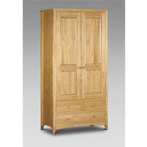 Julian Bowen Kendal 2 Door 3 Drawer Combi Wardrobe