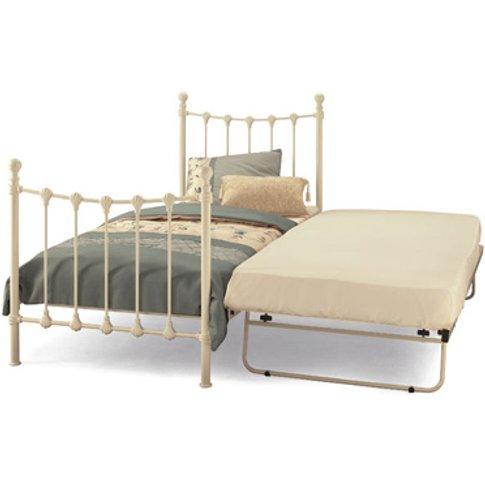 Serene Marseilles 3ft Single Metal Guest Bed (Frame Only)