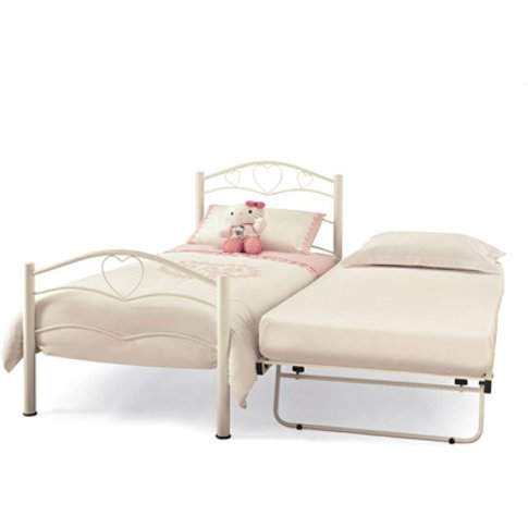 Serene Yasmin Metal Guest Bed (Frame Only)