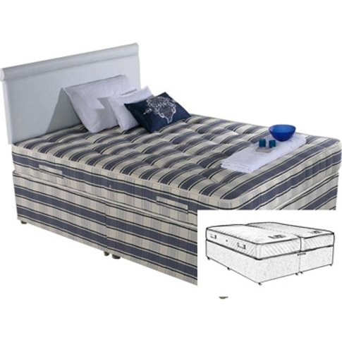 Shire Beds Ortho Cheshire 6ft Superking Zip & Link D...