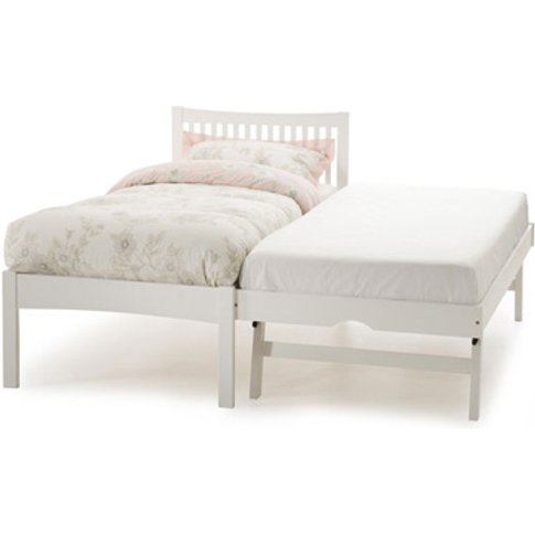 Serene Mya 3-In-1 Wooden Guest Bed,Opal White