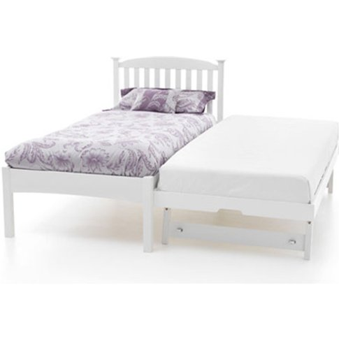 Serene Eleanor 3-In-1 Wooden Guest Bed,Opal White