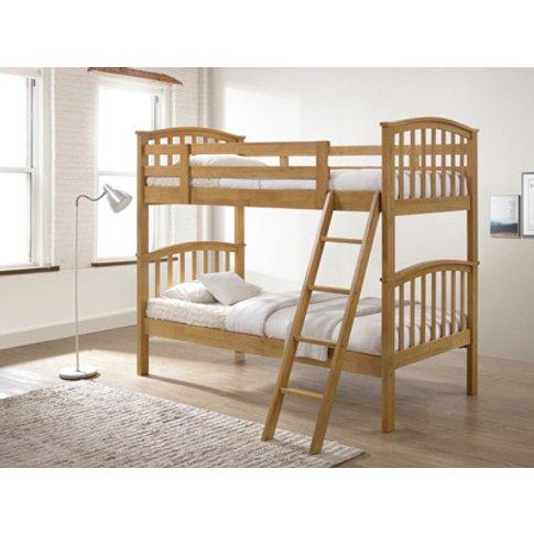 Artisan Wooden Bunk Bed,Oak