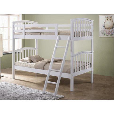 Artisan Wooden Bunk Bed,White